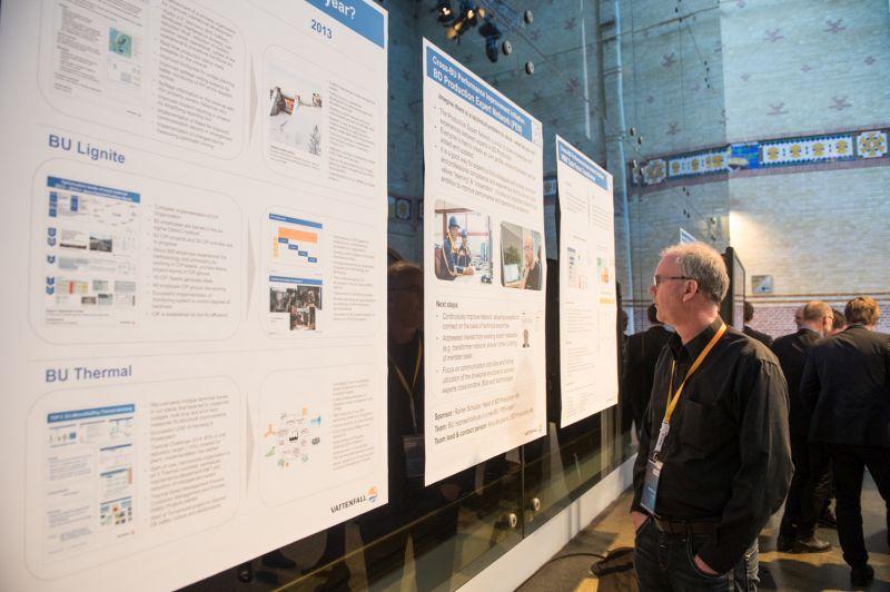 Vattenfall_inspiranten_Management_Conference_Posterausstellung