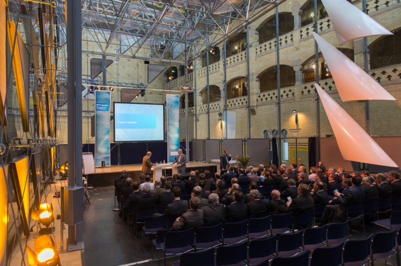 Top executives cook up strategy at annual meeting in Amsterdam